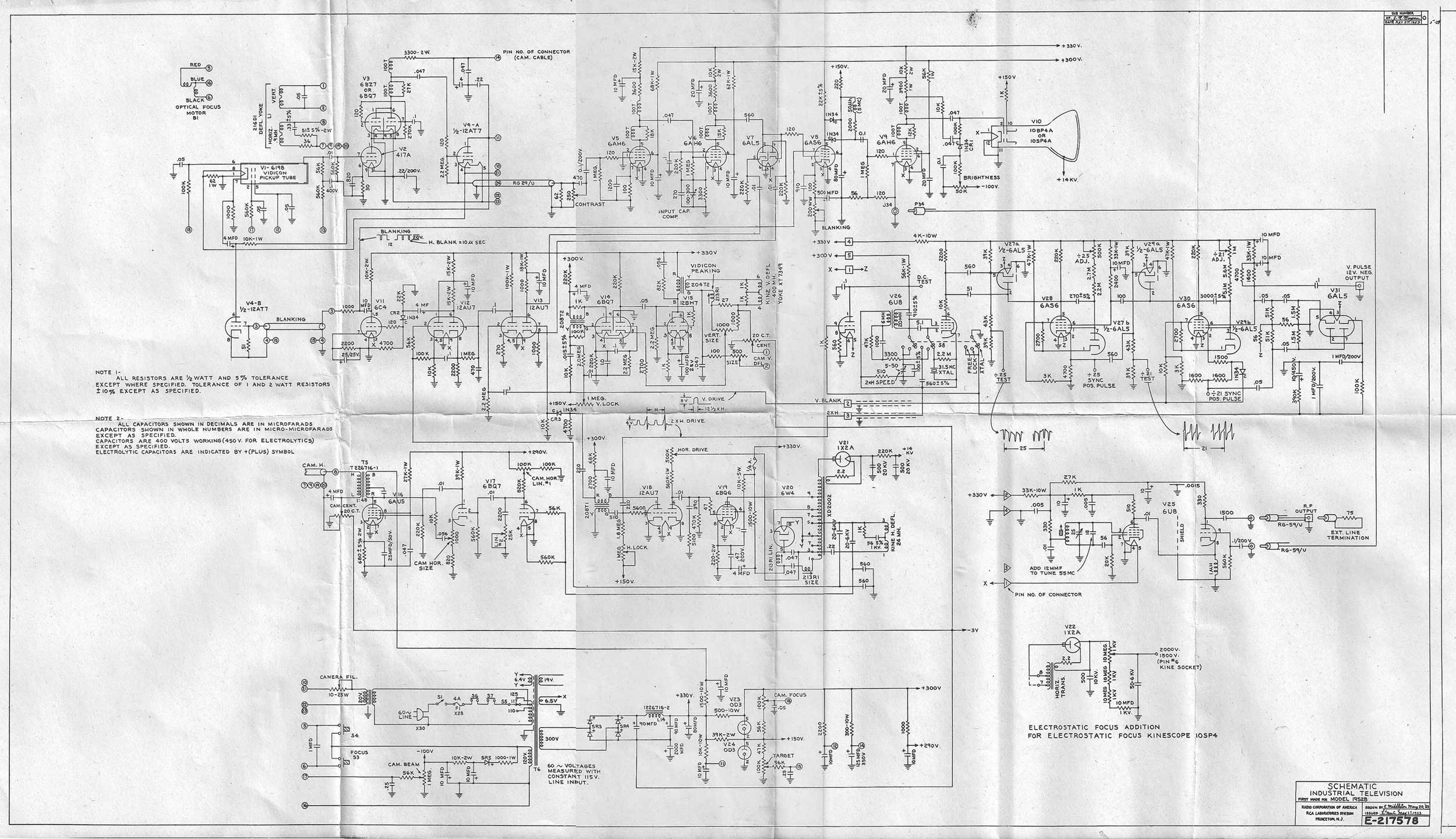 Rca Tv Schematic Diagram - Wiring Diagram Database •