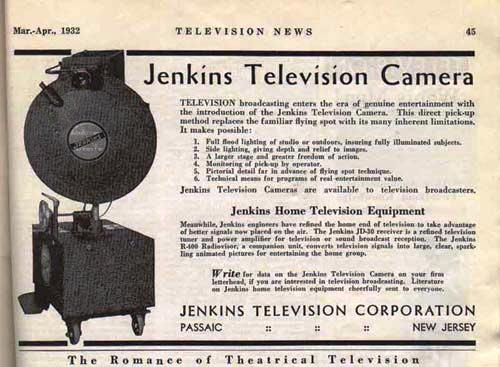 http://www.earlytelevision.org/images/jenkins_tv_camera_ad_1932.jpg