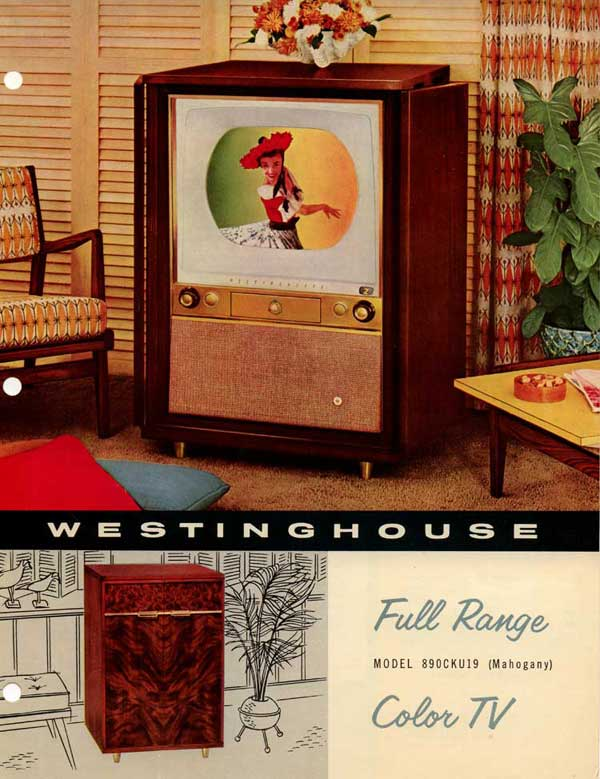 Westinghouse 19 Inch Color Tv Ad